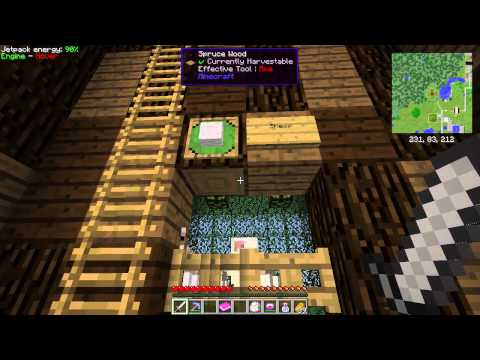 Minecraft FTB Lite 3 Ep 4 Nether Rail