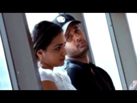 Ishq Movie || Nithin & Nithya Comedy In The Airport || Nitin, Nithya Menen video