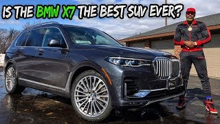 IS THE LUXURIOUS BMW X7 WORTH $125,000??? Pt1