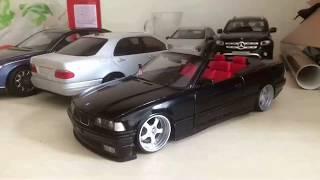 BMW E36 3.25 Cabrio Folyo Kaplama Uygulaması 1/18 Diecast Model