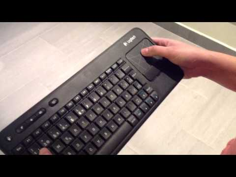 Tv Samsung + Teclado Logitech K400
