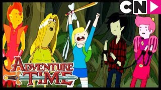 Adventure Time | The Prince Who Wanted Everything | Fiona and Cake | Cartoon Network