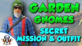 Watch Dogs 2 Secret Garden Gnome Mission & Outfit - All 10 Garden Gnomes Easter Egg Locations