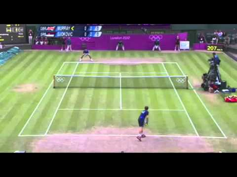 LIVE STREAM Highlights Andy Murray vs Novak Djokovic Olympic Semi finals mens tennis 2012