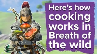 Here's how cooking works in Zelda Breath of the Wild