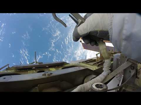 Action Cam Footage From October 2017 Spacewalk