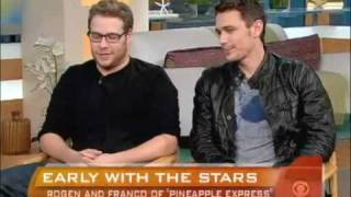 Interview  with James Franco & Seth Rogen : 'Pineapple Express' /2008