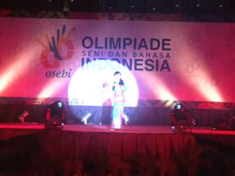 Juara 2 Lomba Menyanyi   RR Rahmania Astrini Purwono   Pribadi   Bandung