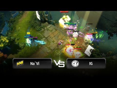 Na`Vi vs iG @ Alienware Cup #1