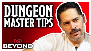 Joe Manganiello reveals advice for Dungeon Masters | D&D Beyond