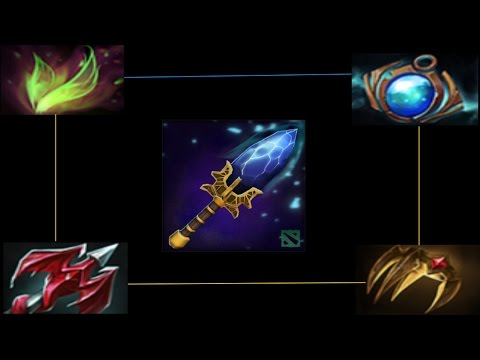 New Dota 2 Items and Aghanim's scepters 6.86!