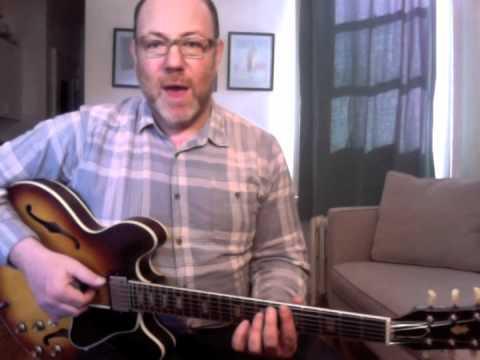 50 Low-Down Rhythm Licks - #7 Walking Blues A Minor - Guitar Lesson - Adam Levy