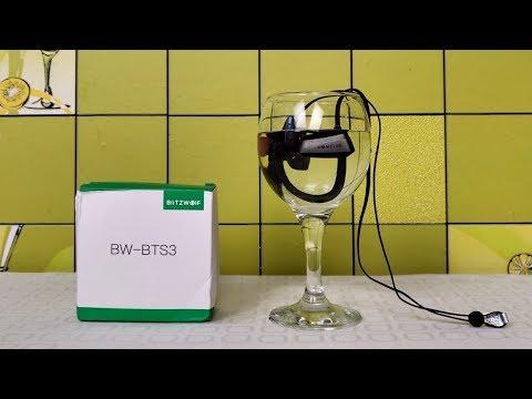Обзор беспроводных наушников BlitzWolf BTS3 которые не боятся воды