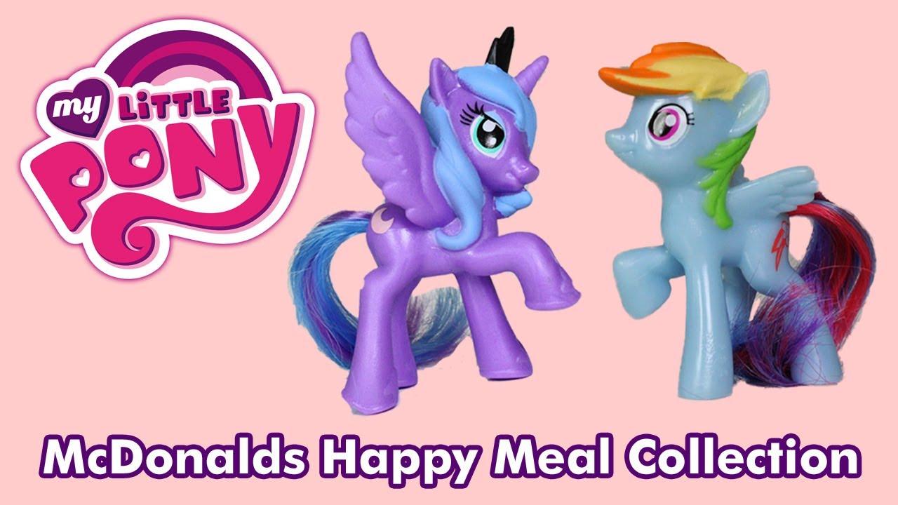 Mcdonalds Happy Meal Toys 2014 My Little Pony McDonalds My Little Pony 2014