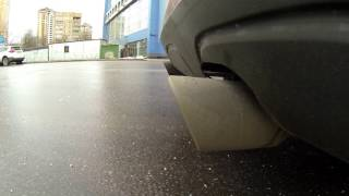 BMW X1 2.0D St.2 double exhaust with Borla XR1