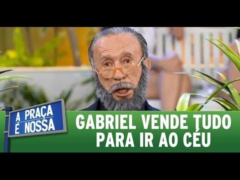 A Praça é Nossa (24/03/16) Gabriel vende coisas para ir ao céu