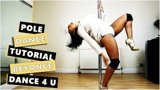 Beginners Sexy Pole Dance Tutorial - Beyonce Dance 4 U