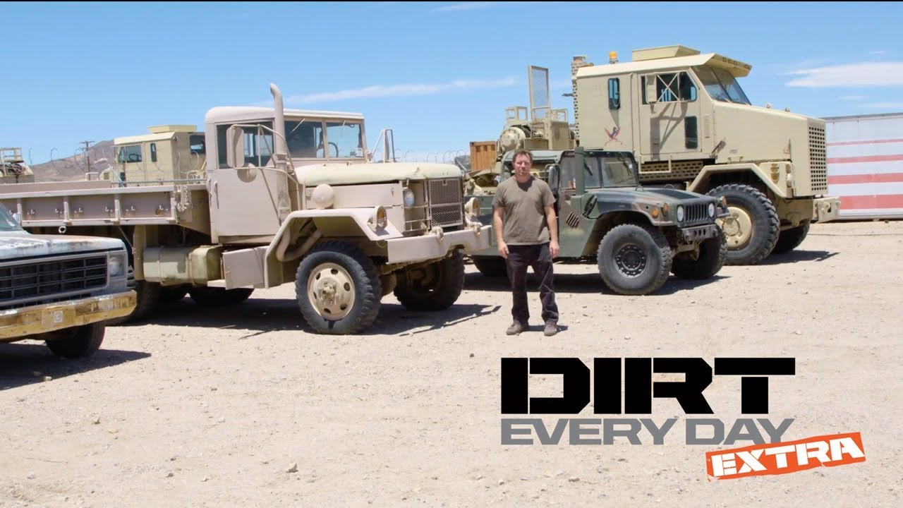 How to Buy a Government Surplus Army Truck or Humvee  - Dirt Every Day Extra