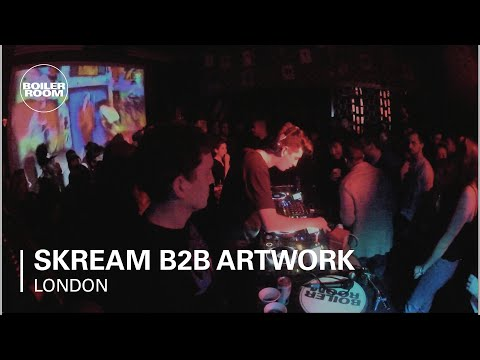 Skream B2B Artwork Boiler Room DJ Set - Red Bull Music Academy Takeover