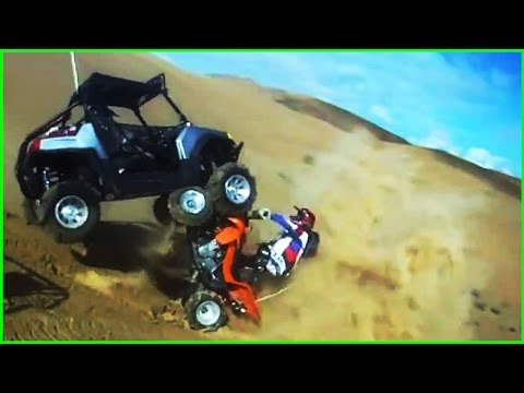 EPIC DIRT BIKE & ATV CRASHES & FAILS!!