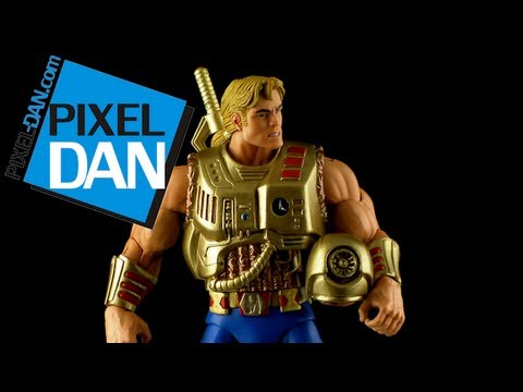 Masters of the Universe Classics Galactic Protector He-Man Figure Video Review