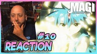 "MAGI LABYRINTH OF MAGIC Episode 10 REACTION ""His Name Is Judar"""