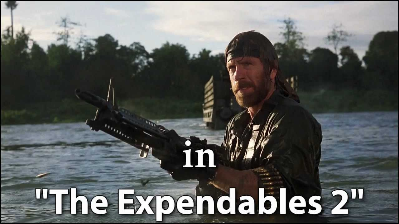 chuck norris in quotthe expendables 2quot officially confirmed