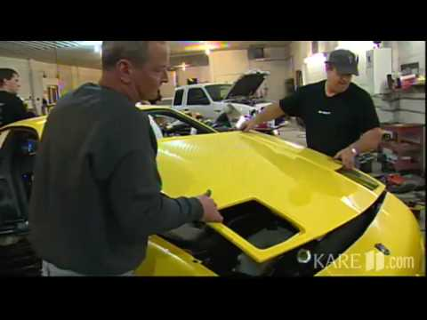 Tyler Shipman's Fiero on KARE11 - The Land of 10000 Stories
