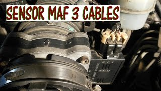 Como probar el sensor MAF de 3 cables con multimetro (version completa)