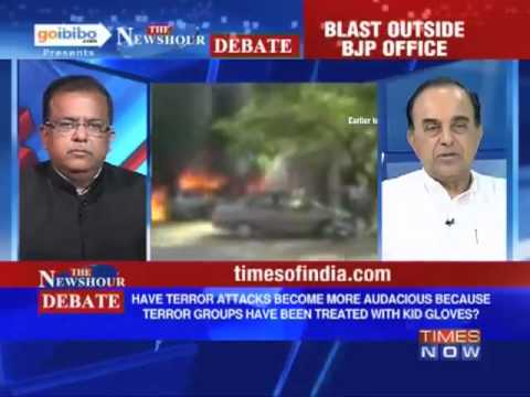 To Stop Terrorism in Country we needs to have a deterrent policy - Dr Subramanian Swamy
