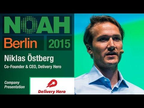 Niklas Östberg, Deliver Hero - NOAH15 Berlin