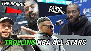 We Snuck Into NBA All-Star Weekend & Made KAWHI SMILE! Behind The Scenes With Harden, Steph & More!