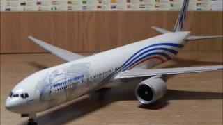 Стендовый моделизм. Сборка Boeing 777-300ER.