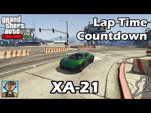 Fastest Supercars (XA-21) - GTA 5 Best Fully Upgraded Cars Lap Time Countdown