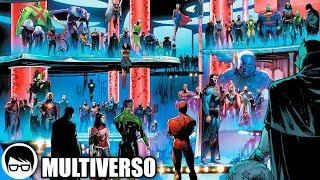 LAS JUSTICE LEAGUES DEL MULTIVERSO REUNIDAS (2019) |  Justice League #26