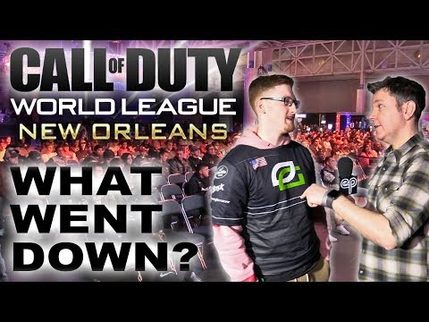 Call of Duty World League - On the Floor in New Orleans!