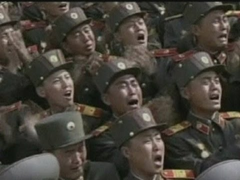 Thousands Of North Korean Troops Cry At Shoot With Kim Jong Un