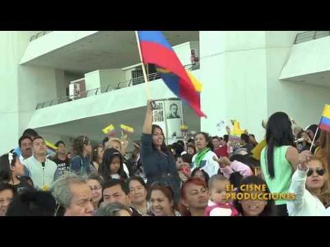 Enlace  # 318 del Presidente del Ecuador en Valencia Espaa