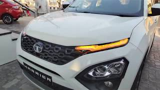 Walk Around of TATA HARRIER XZ[Latest] ORCUS WHITE Color- HD