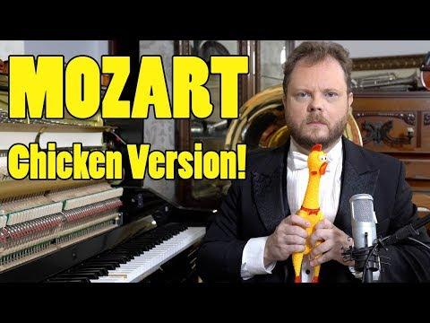 Mozart - Eine Kleine Nachtmusik (Chicken Version) Vídeos de zueiras e brincadeiras: zuera, video clips, brincadeiras, pegadinhas, lançamentos, vídeos, sustos