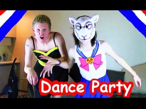 PIERCE THE VEIL *DANCE PARTY* Featuring Johnnie Guilbert & BryanStars