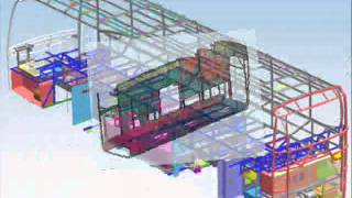 Bus Body Building CAD Design youngineers