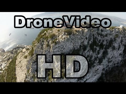Gibraltar by drone travel video (UK)