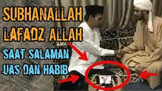 SUBHANALLAH !! Lafadz ALLAH muncul saat Ustad Abdul Somad Salaman dengan Habaib