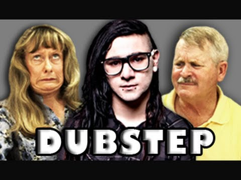 ELDERS REACT TO DUBSTEP (SKRILLEX) Music Videos