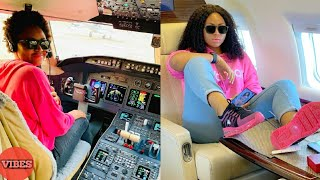 Ned Nwoko Surprises Regina Daniels With A Private Jet After She SL€PT With Him