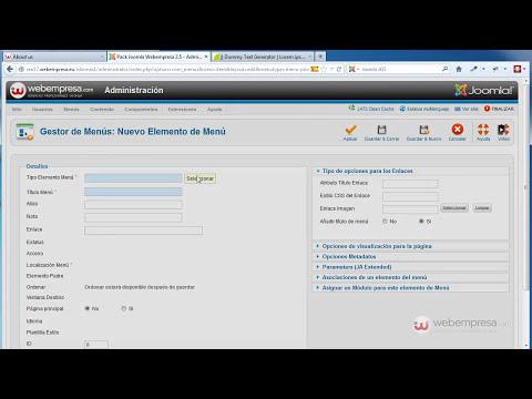 Artículos, menús y módulos en multilenguaje (2ª parte de multi-idiomas en Joomla! 2.5)