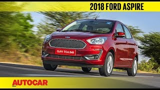 2018 Ford Aspire Facelift | First Drive Review | Autocar India
