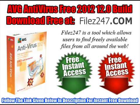 AVG AntiVirus Free 2012 12.0 Build Full Version Download