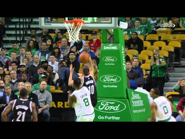 Jeff Green Gets The Monster Chasedown Block